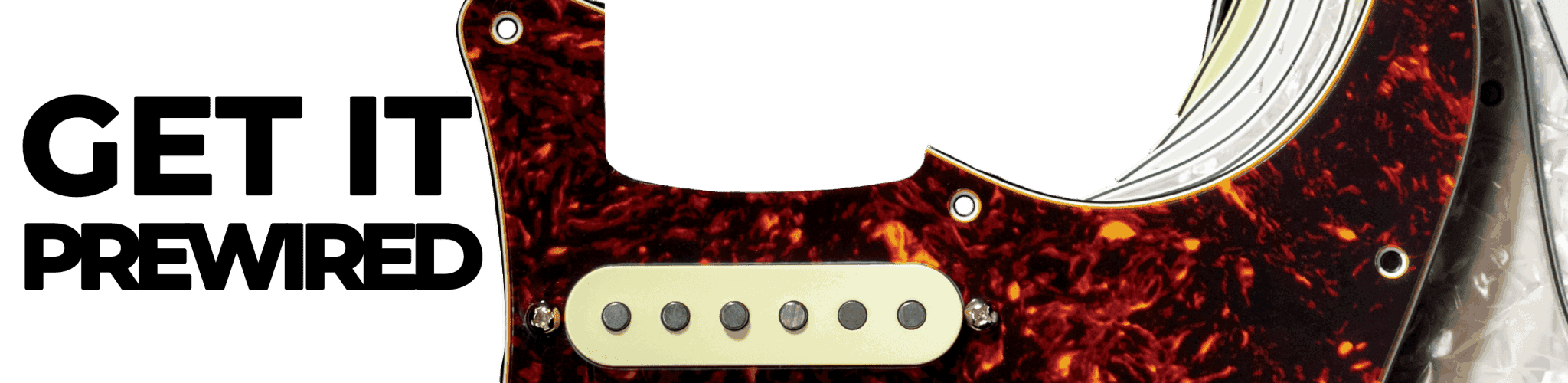 Get It Prewired - Lindy Fralin Pickups