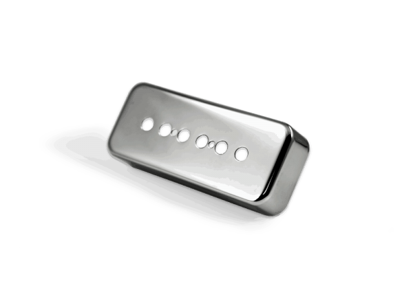 Lindy Fralin P90 Soapbar Cover Polished Nickel