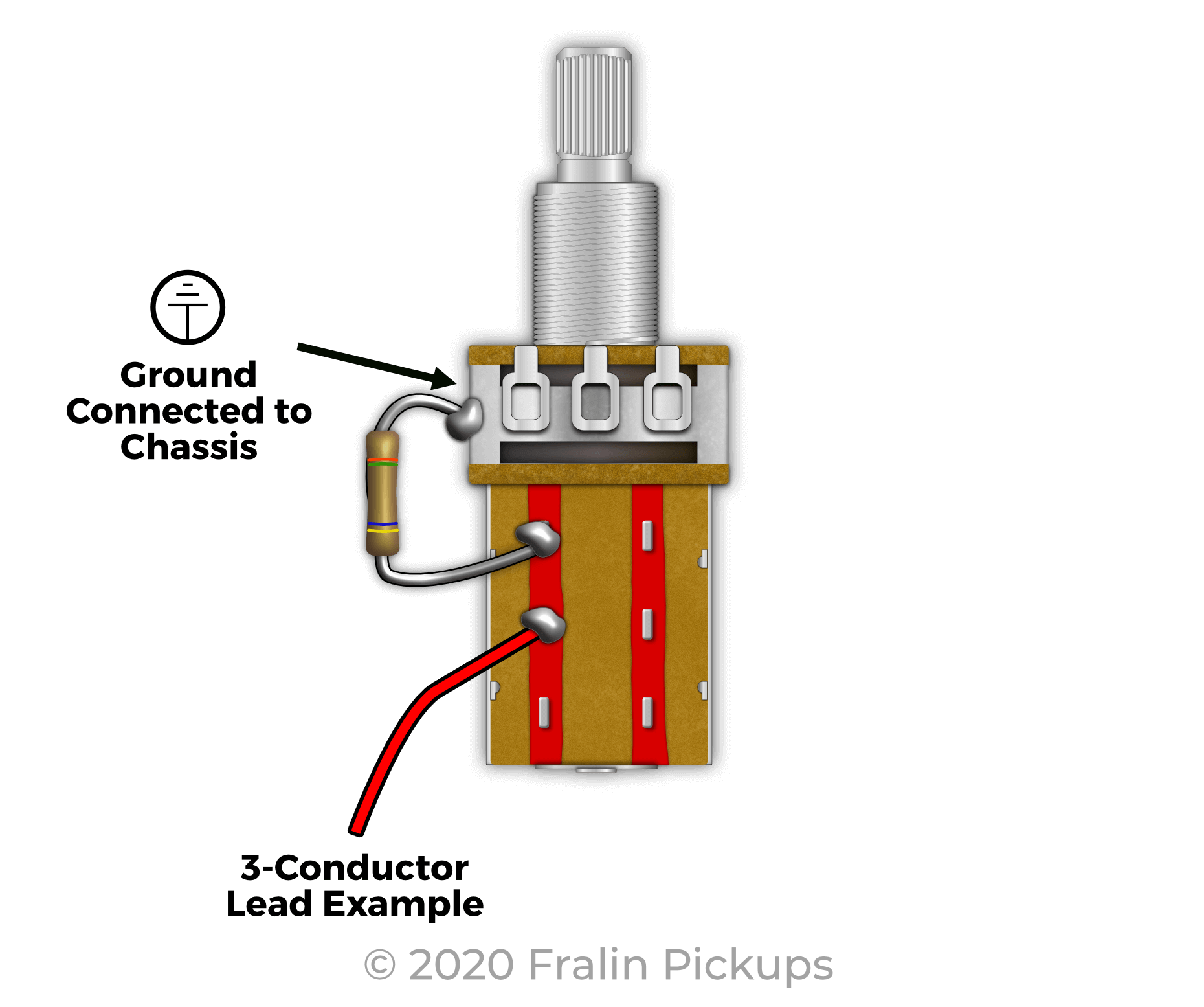 Coil Splitting with a 7K Resistor